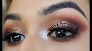 bronze smokey eye jaclyn hill x morphe palette monika zamudio