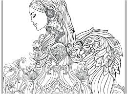 Mary Angel Gabriel Coloring Page Pictures Colouring To Print Pages