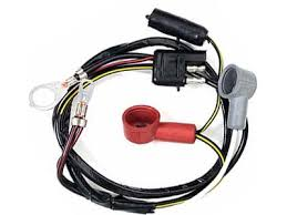65 mustang alternator wiring harness, 6 cylinder w gauges (alloy alternator wiring harness for 1988 foxbody 65 mustang alternator wiring harness, 6 cylinder w gauges (alloy metal's brand,
