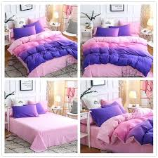 details about grant pink purple duvet cover quilt bedding sets queen twin ikea bedroom covers