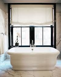 Love The Tub, The Marble, Black Window, And Roman Shade. Stunning | B A T H  R O O M S | Pinterest | Tubs, Waterworks And Marbles