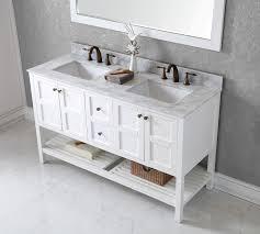 double sink bathroom vanity top. Virtu USA 60\ Double Sink Bathroom Vanity Top R