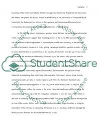 journey of the universe reflection paper essay journey of the universe reflection paper essay example