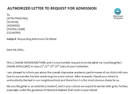 How To Write A Request Letter For School Admission Quora