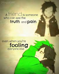 Anime Quotes About Friendship Extraordinary Anime QuotesFriendship Anime Amino