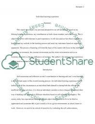individual reflection accounting essay example topics and well individual reflection accounting essay essay example