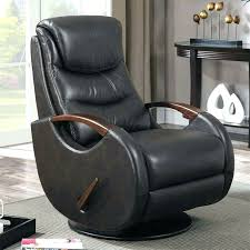 synergy leather swivel recliner costco with wooden arms derrick wood arm reclining chair wo