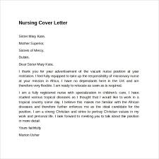 Downloadable Cover Letter Templates Sample Nursing Cover Letter Template 8 Download Free