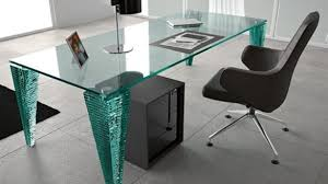 glass top office furniture. Modern Glass Top Office Desk Within Bring And Trendy Look With Furniture