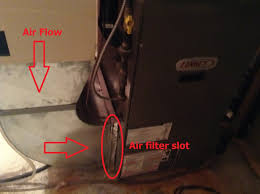 heating how to change furnace filter bottom return for lennox air filter location