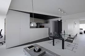 edgy furniture. Simple Furniture Black And White Apartment Design In Tokyo Contemporary Interior  Minimalsit Space Clean Lines Edgy And Edgy Furniture 0