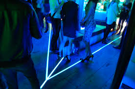 floor lighting led. Modern Concept Floor Lighting With Light Tape Outdoor Used At The Launch Of Led