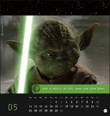 Star Wars Meister Yoda Postkartenkalender 2020 Kalender