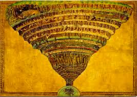 Botticelli Chart Of Hell High Resolution April 2013 Musings On Maps Page 2