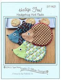 Sew Sisters Quilt Shop: Hot Dogs! | Small Sewing Projects ... & Hedgehog Hot Pads - Sew Sisters Online Store featuring quilt fabric,  Block-of-the-Month programs, Quilt Kits, Patterns, Books and Notions. Adamdwight.com