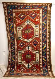 fachralo kazak shield medallion rug
