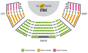 Southern Theater Seating Chart Loft Theatre Seating