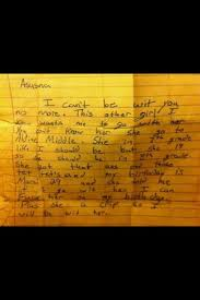 Just Another Ghetto Break Up Letter Funny Pics Pinterest