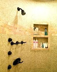 built in shower shelves built in shower shelves shelf tile storage ideas diy shower shelves