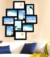 picture frame hanging ideas picture frame collage opening wood photo collage wall hanging picture frame hanging