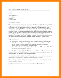 Letter To School Principle Letter Writing Format To School Principal Save 7 Formal For Of