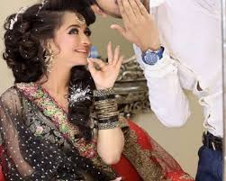 kashee s artist beautiful hairstyle salon makeup on eid festival