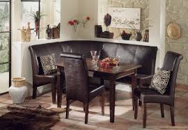 oak wood dining booth seat