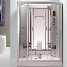 back massage jets jacuzzi shower enclosures shower steam room combo with fold up seat