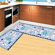 l shaped rug runner elegant rubber back home and kitchen rugs non skid slip contact