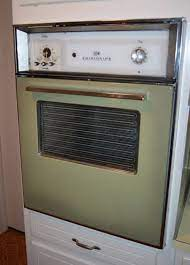 vintage stoves and refrigerators