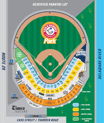 Stadium Map Thunder