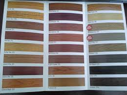 Duraseal Stain Chart 7 Template Format