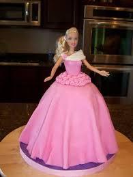 41 Great Barbie Cakesfor Anna Images Barbie Cake Barbie