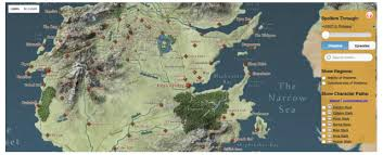 map of westeros braavos map game thrones
