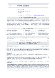 Bunch Ideas Of Purchasing Resume Objective Unique Er Objectives