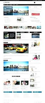 Newspaper Web Template Free Free News Site Template Best Magazine Theme Mag Portal Pro