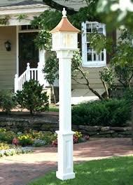 yard light post home depot outdoor lamps best lamp lights h41