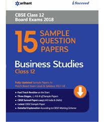 sample question paper business studies class th cbse buy  15 sample question paper business studies class 12th cbse