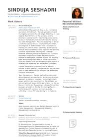 Retail Manager Resume Examples