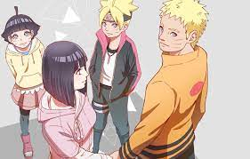 Naruto Hinata Familie - Boruto Tapete - 1332x850 - WallpaperTip