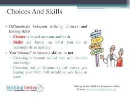 Birth Plan Choices Skills Based Birth Plan For Birth Centre Birth
