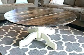 how to build a round coffee table diy wooden legs