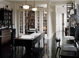 amazing home office. My Dream Home Office Space. Great / Study And Library Area. Awesome Glassed-in Library. Love The Black White. Amazing