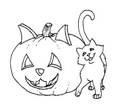Gatto E Zucca Di Halloween