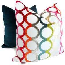 ... Draw Modern Throw Pillows Jonathan Adler Pillow Cover Modern With Color  Red Pink, Turquoise, ...