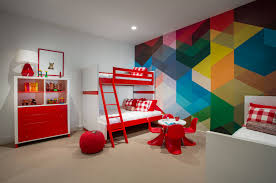 Painted Wall Designs Home Interior Beautiful Stripes Painted Wall Design Rainbow Wall