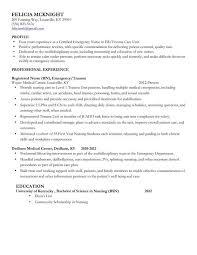 Er Rn Resume Adorable Mid Level Nurse Resume Sample Nursing