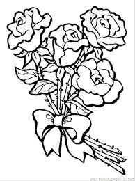 Bouquet Of Flowers Coloring Page Zupa Miljevcicom