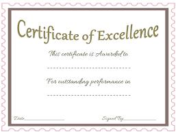 Sample Awards Certificate Award Certificate Template Celebrate Achievements