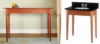 how to make table legs from wood